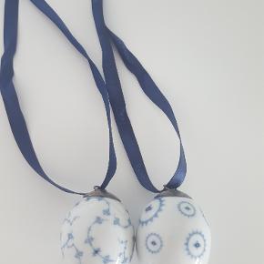 2 stkudgået æg fra Royal Copenhagen.  sælges for 1000 kr inkl Dao.  handler helst via mobilepay.