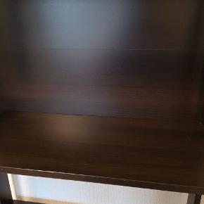Ikea Laiva reol - brugt sparsomt. 62x165x24. Sort med brunt skær