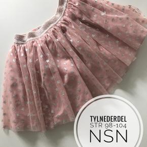 Tyl nederdel str 98-104