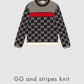 Gucci strik bluse trøje.  Brugt en enkelt gang og efterfølgende været til rens. Nypris 890 euro.  Mine egne billeder bliver lagt op Kom med bud.