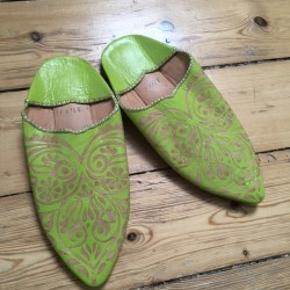 Helt nye originale sandaler, slippers fra Marokko. Passer str 35