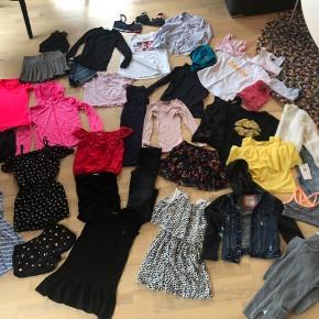 Super lækker tøjpakke med pigetøj i størrelse 7-8 år. Mærker som b.la. Abercrombie & Fitch, Ralph Lauren, Rails og Rosemunde mm. Alt tøjet er i super god stand, flere dele er aldrig brugt. 38 dele