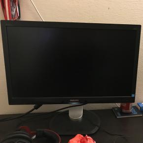 Sælger en Philips skærm, fejler ingenting. Sælges til 300.-