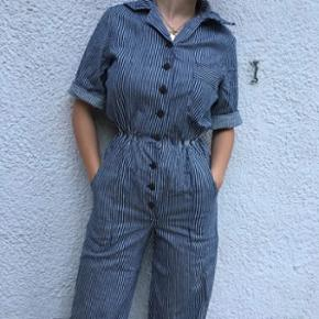 Vintage stribet buksedragt, passer en str xs/S