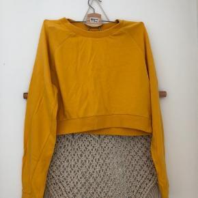 Flot gul bluse fra WEEKDAY Skal lige stryges engang 😅 Kom endelig med et bud 🌻 Tjek også mine andre annoncer med tøj fra Monki, Zara, Boii, Weekday mm. 🌸🕺🏼 #trendsalesfund
