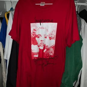 Supreme X Madonna (Photo Tee) No Stains, worn with care.