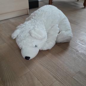 plys isbjørn sælges for 25 kr, sælges for 25 kr - afhentes - ring på20280466