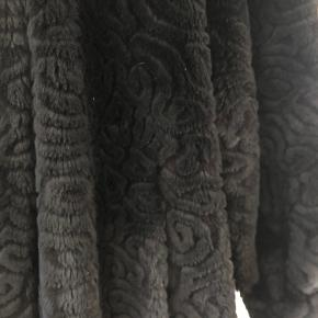 Retro pels- & skindjakke