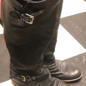Læder sko.