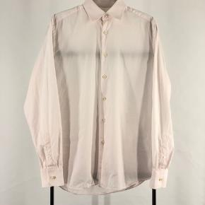 Prada skjorte Str 39/15,5 - fitter M - L Cond 8 Mp 499 Bin 999