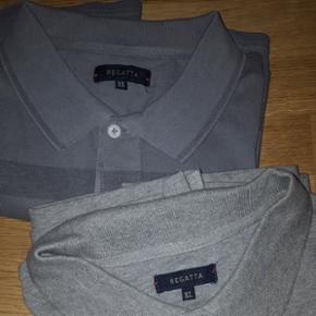 2 Polos manches courtes .coton 100% . T.XL couleur gris clair et gris foncé Neuf .jamais porté. mais ils n ont plus d'étiquettes .valeur magasin 39.90 chacun
