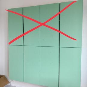 To malede Ivar skabe fra Ikea 700kr Ny pris et stk. skab 450kr 80X30X83 cm Fyr