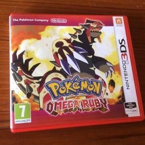 Pokemon Omega Ruby sælges🌸.   Lige fået den ind af døren, men havde ikke lige set at den ikke passer til den maskine vi har herhjemme😅.