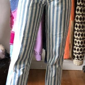 Vintage bukser med striber   #30daysselout