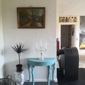 Smuk 3 armet vintage retro lysestage perfekt til smuk dekoration, kun fantasien sætter grænser.