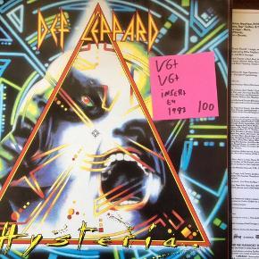 Def leppard heavy metal lp på vinyl en plade med en samling fede sange Tim grammofon Se mine andre plader