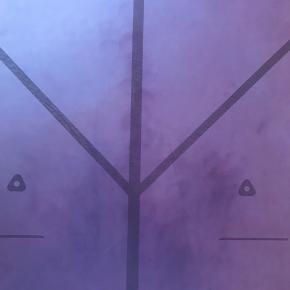 Verdens bedste yogamåtte. Taske medfølger.   Super lækker og slidstærk, Purple Earth variant, smuk lilla farve, indbygget alignment guidning, fantastisk skridsikker og holdbar.   185 x 68 cm., 4,2 mm tyk og 2,5 kg.   To år gammel, er brugt et par gange månedligt det første år, og det sidste år stort set ikke. Der er to større, synlige slidmærker. Se billeder. Ellers fejler den intet.   Nypris 1050 kr.