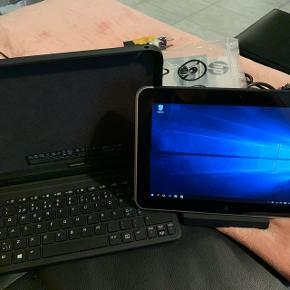 """HP ElitePad 900 G1 10,1"""" Wi-Fi + 3G 32GB Sort/SølvFølger med tasture og docking station du kan brug simkort med"""