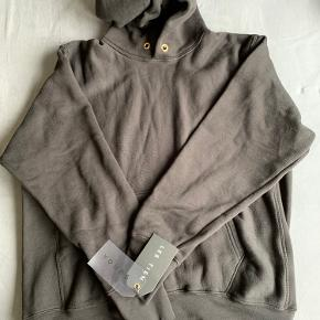 Les Tien - brushed-back cotton hoodie