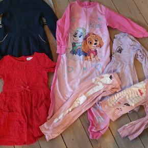 Tøjpakke str 110/116 sælges kun samlet.  Stand Gmb.  Forskillige mærker som, H&M ,Pompdelux Vrs ovs.