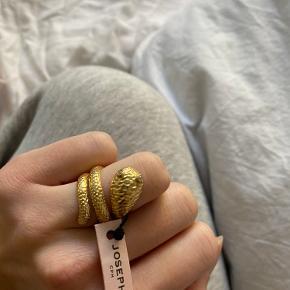 Joseph Cph Nero Snake ring Forgyldt.   ALDRIG BRUGT - stadig med mærke på.   Str. 52.