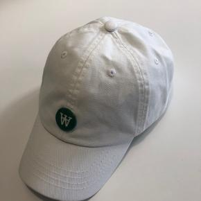 Wood Wood cap hvid