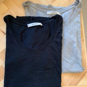 T-shirts fra Gestuz med u-udskæring. Sælges samlet for 130 kr.