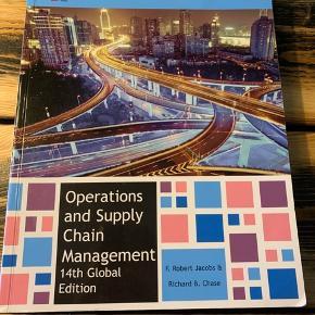 Operations and Supply Chain Management 14th Global Edition. Nypris 580 kr.  Bogen står som ny men har en lille bule på forsiden