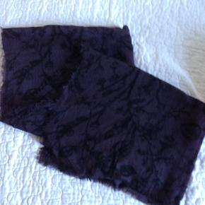 Lækkert langt uld tørklæde