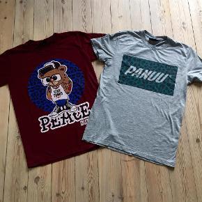 Varetype: 2 t-shirts Størrelse: XS/S Farve: som billede Oprindelig købspris: 750 kr.  Bordeaux str. xs grå har hul ved kanten str. s  sælges samlet for 70+  bytter ikke
