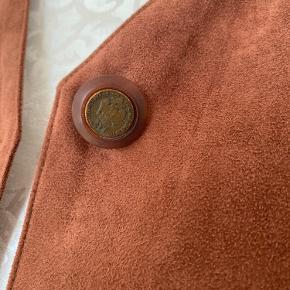 Vintage velour lignende jakke!