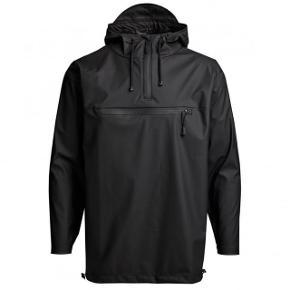 Rains anorak i sort. Størrelse L/XL