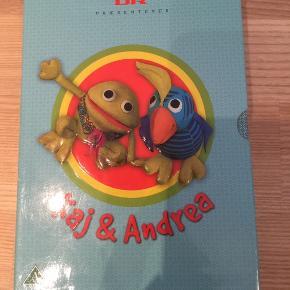 Brand: DR Kaj og Andrea Varetype: Dvd boks med Kaj og Andrea Boks med 6 dvd med de skønne og klassiske Kaj og Andrea DVD