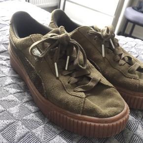 Grønne Puma sneakers