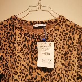 Leopard croptop bluse