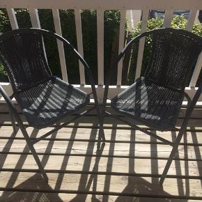 2 altan stole fra JYSK  Pr stk 50kr
