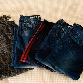 5 par bukser størrelse 12 år  Har flere tøjpakker til samme alder