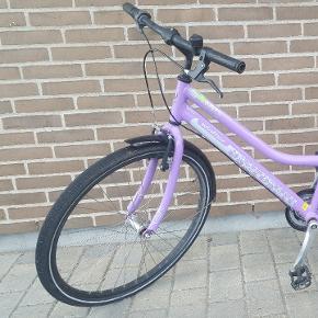 Pige cykel.