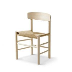 Designer: Børge Mogensen  Folkestolen / J39  Stolen er i sæbebehandlet eg med fletsæde i papirgarn natur.   HELT NY i original indpakning.   Købspris kr. 4935  Tags: Spisebordsstol stol dansk design arkitekt spisestue møbler danskdesign klassisk