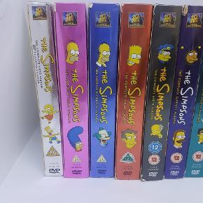 Simpsons dvd'er . Sælges samlet