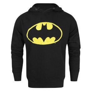Hætte trøje med Batman logo - medium