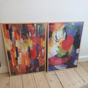 Plakater med ramme sælges.50x70 cm. Sælges samlet eller hver for sig.  120 kr. pr billede.