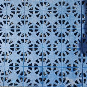 Plastic gulvfliser 30 x 30 cm  ca.3.7 m2