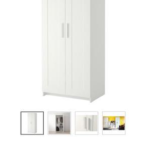 Mærke: Ikea  Model: Brimnes Mål: 78 x 190 cm  Nypris: 699,-  Pris: 100,-  Andet: Tilpasset hul i bagpladen - derfor er prisen sat derefter