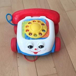Fisher Price legetøjs telefon.