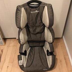 Auto stol sælges fra storchenmuhle. Betræk ny vasket. Til almindelig sikkerheds sele.