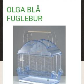 Stort fuglebur med tilbehør H.66cm B.59cm D.35cm Ny pris 699 Befinder sig I Brøndbyøster
