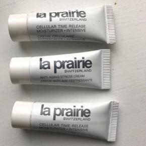 3 små 5 ml creme fra la prairie    1 anti stress cream   2 cellular time release