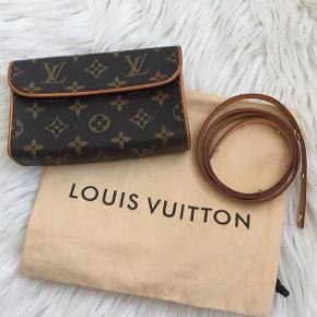 Louis Vuitton Florentine bæltetaske sælges. Flot stand, fejler intet. Bæltet er en str small. Dustbag medfølger.  #30dayssellout