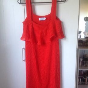 Beautiful red orange dress. It's a size 36